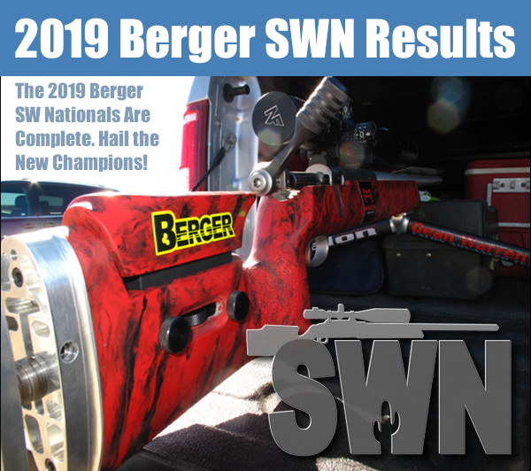 2019 Berger Southwest Nationals SWN Ben Avery Phoenix Arizona Lapua Capstone F-Class
