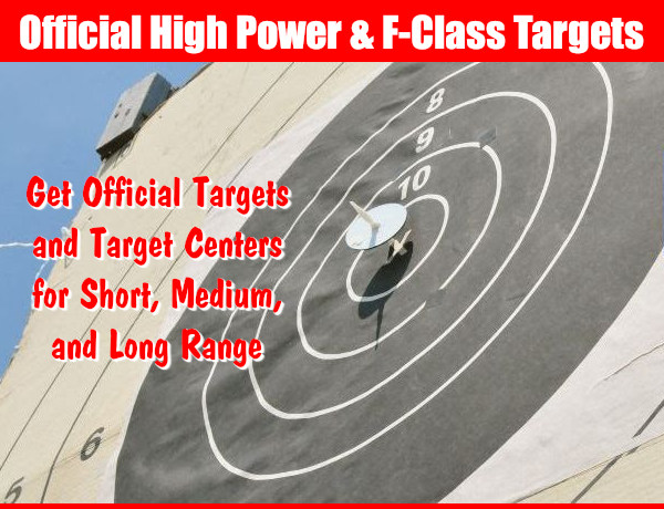 Official Targets Creedmoor sports