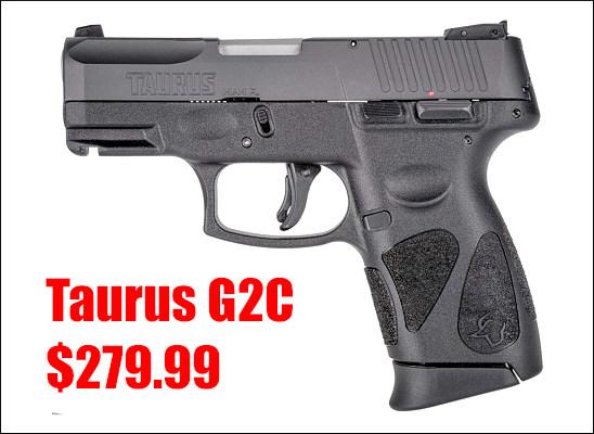 Taurus 9mm 9x19mm 9 Luger compact pistol handgun sale discount