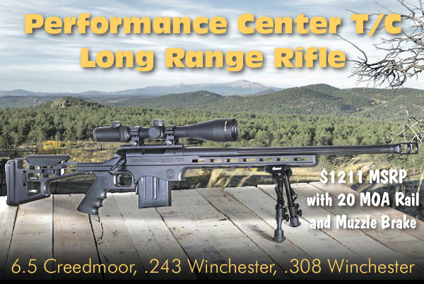 Thompson Center T/C LRR PRS long range rifle