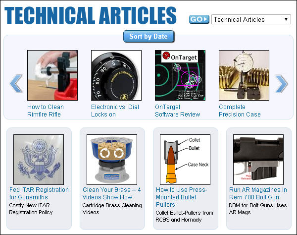 AccurateShooter.com technical articles