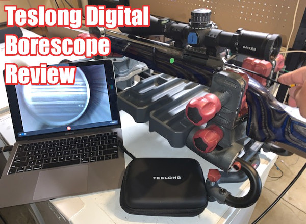 Teslong digital endoscope borescope windows android Mac video screen barrel inspection