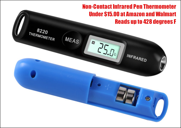 infrared pocket pen battery thermometer