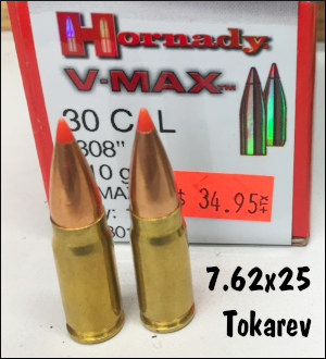 rifle tokarev 7.62x25 pistol cartridge varmint rifle custom