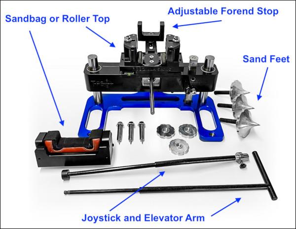 Rodzilla T-Rex front rest shooting F-Class benchrest review