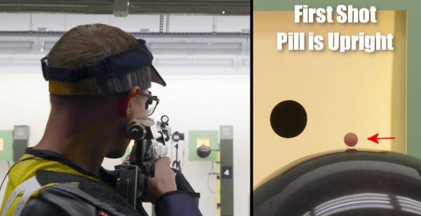 Balloon pill trick shot trickshot USAMU SPC Ivan Roe