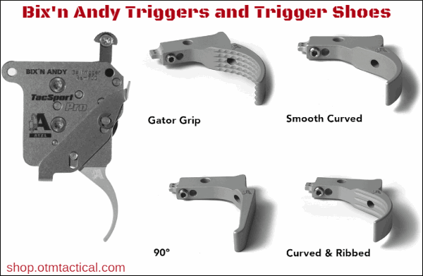 trigger show bix'n andy otm tactical