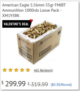 Palmetto State Armory Valentine's Day Sale