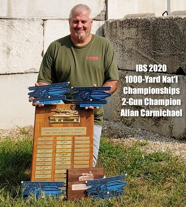IBS international benchrest shooters 1000-yard 1K Nationals championship Vapor Trail range Missouri