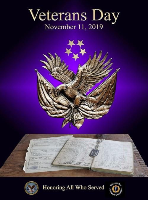 Memorial Veterans Day Vet Army Navy Marines WWII