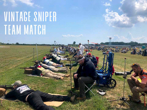 Vintage sniper team match camp perry ohio