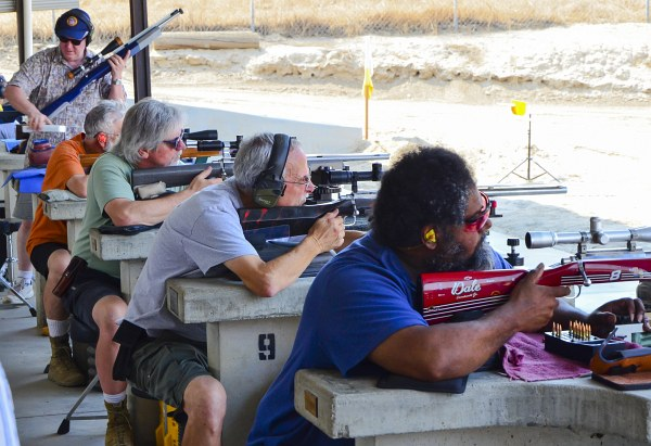 IBS International Benchrest Shooters Visalia CA california match Boyd Allen