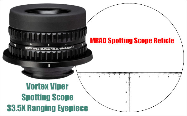 Vortex ranging MRAD MOA reticle subtension hash marks NRL PRS hunting