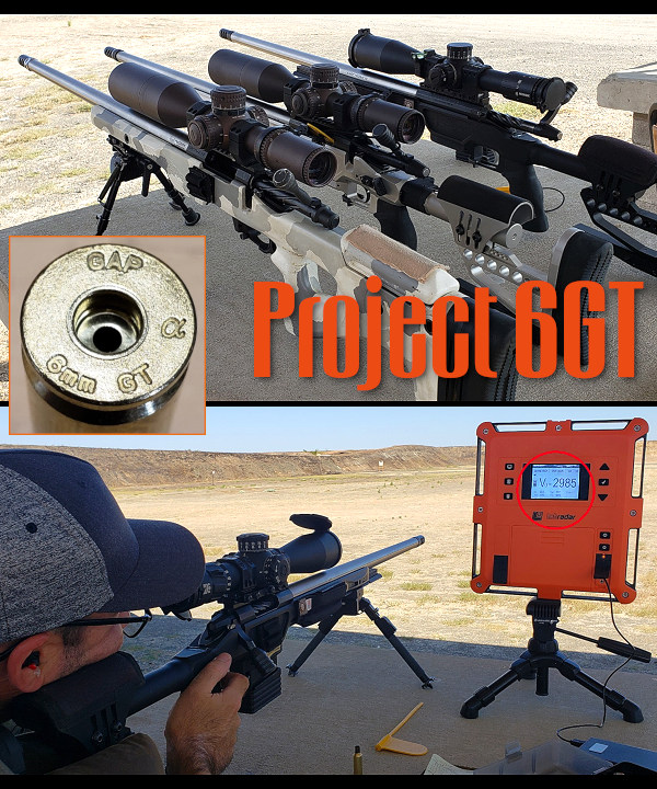 6GT Cartridge Alpha Munitions GA Precision PRS NRL brass 6.5x47 Lapua fire-formed neck-turn project