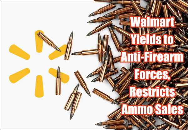 Walmart ammo ammunition ban stop selling AR15 rifle shotgun
