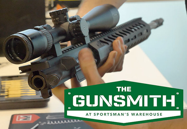 sportsman's warehouse gunsmith smithing gunsmithing Utah mail chambering stock assemble