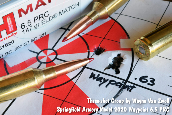 Springfield Armory Waypoint 2020 hunting rifle