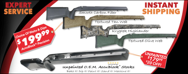 Stocky's Stocks Composite V-block stock