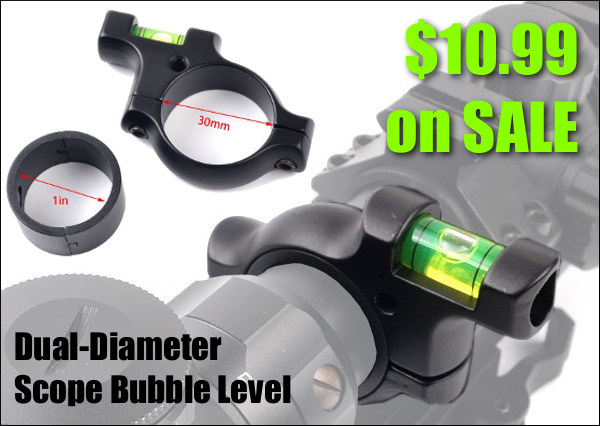 Scope Optic bubble level 30mm 1