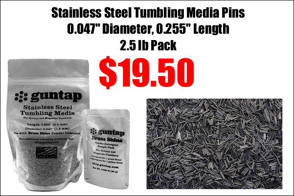 stainless tumbling pins