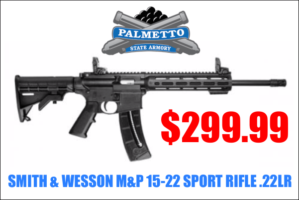 SMITH & WESSON M&P 15-22 SPORT RIFLE .22LR