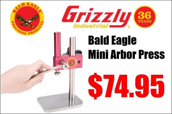 bald eagle arbor press