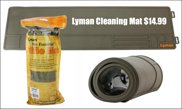 Lyman synthetic rubber cleaning maintenance mat