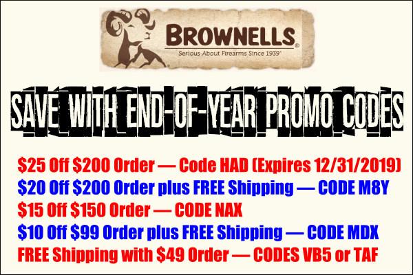 brownells promo code sale