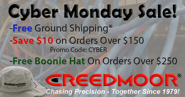 Cyber monday sale creedmoor sports .223 Rem ammo ammunition discount code