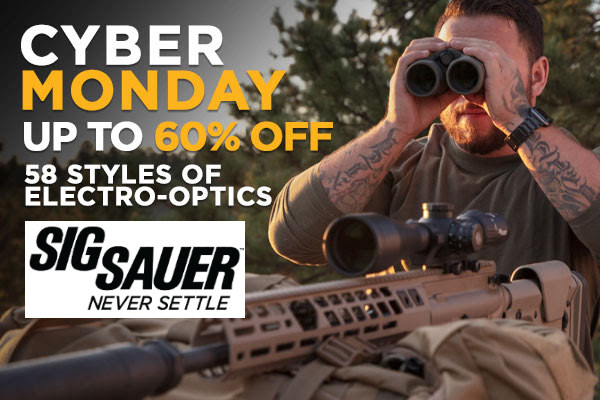SIG Sauer electrooptics optics scope sale
