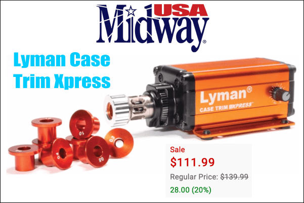 lyman case trim xpress