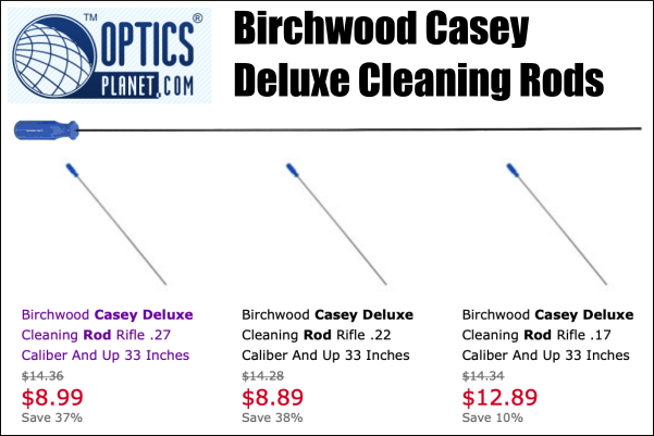 birchwood casey cleaning rods