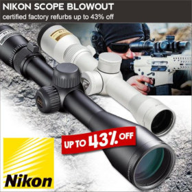 Nikon scope sale refurbished