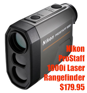 Nikon laser rangefinder 1000i prostaff eurooptic