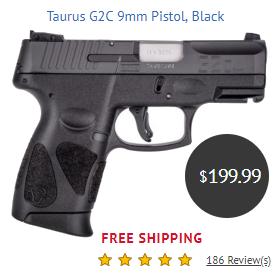 Taurus pistol G2c 9mm