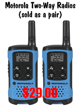 Motorola Amazon Walkie Talkie Radio