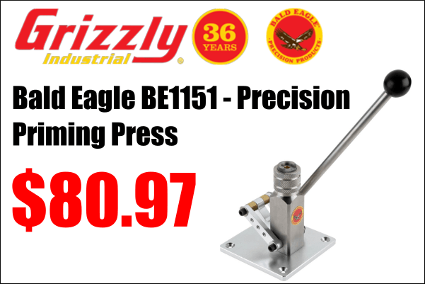 grizzly priming press