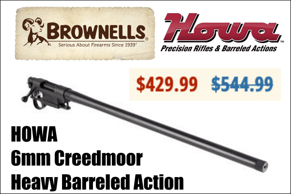 howa barreled action