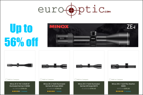 minox scope sale