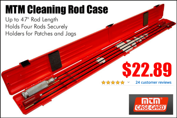 mtm cleaning rod case discount