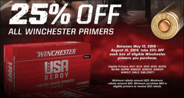 winchester primers sale