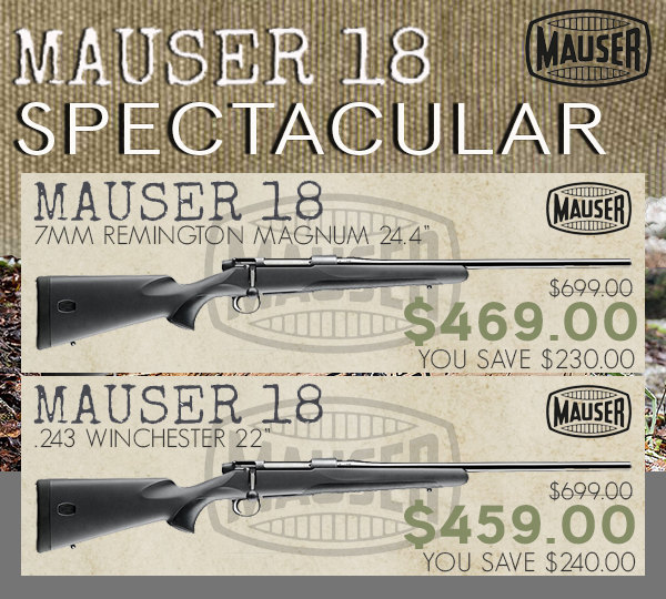 mauser m18 hunting rifle sale germany