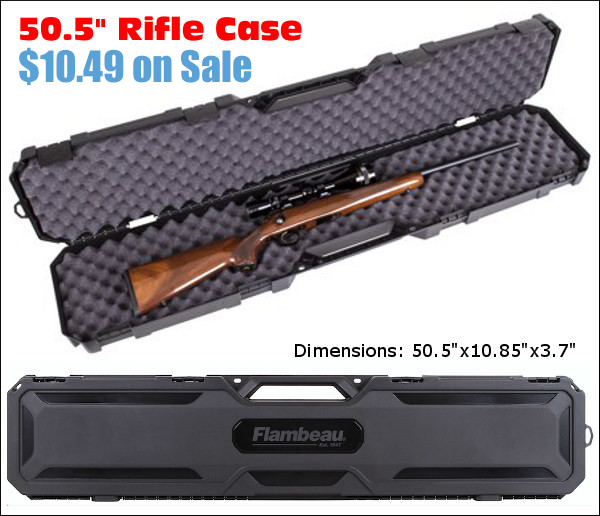 Discount Sale Gun Rifle Case Walmart Flambeau 50.5