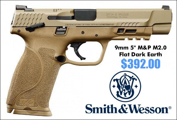 Smith Wesson M&P pistol handgun 9mm 9x19mm sale rebate