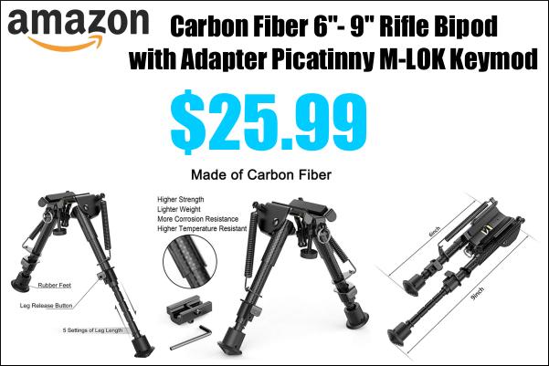 Carbon Fiber Bipod