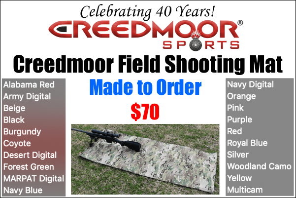 Field Shooting Mat