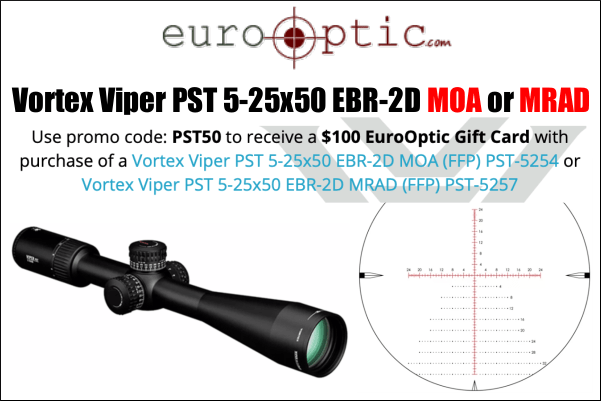 Vortex Viper PST 5-25x50mm