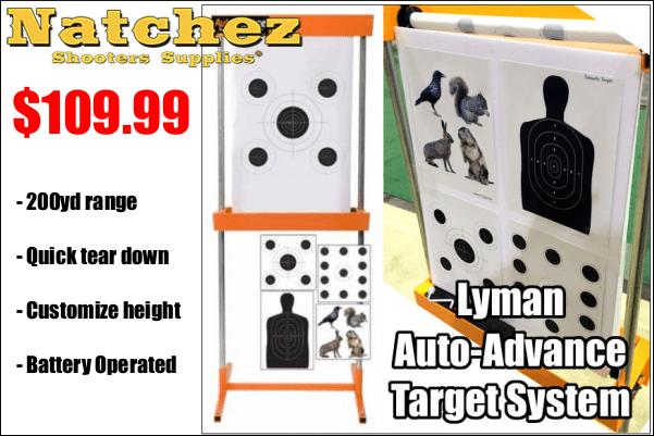 lyman auto advance target