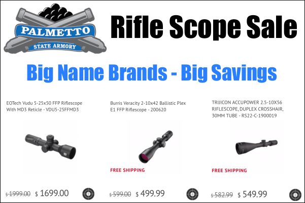 scope sale