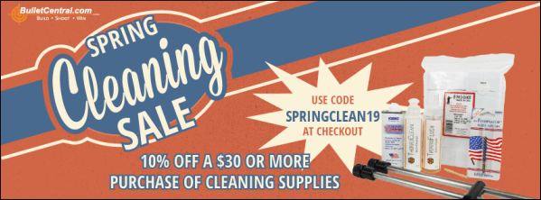 10% sale cleaning supplies